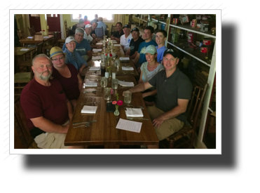 A fun lunch at the Story Inn.